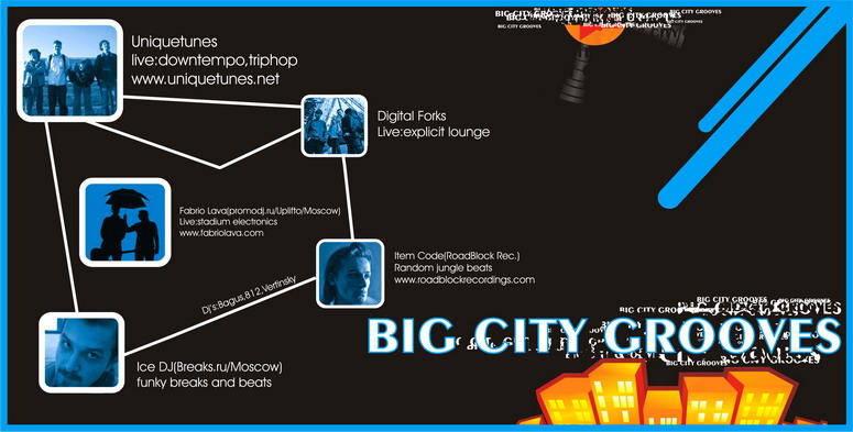 23.06.2006 | Big City Grooves @ Грибоедов (СПб)